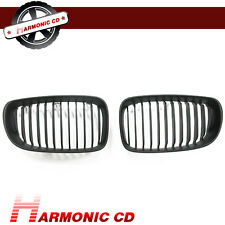 Fits BMW 08-13 E82 E88 128i 135i Coupe Convertible Front Mist Black Grille Grill
