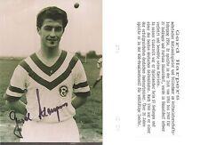 Autogramm Gerd Harpers Fußball 1954 WM Lehrgang Fortuna Düsseldorf  2016+ F09