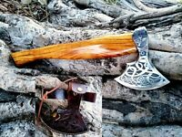 MDM FORGED BEARDED VIKING BUSHCRAFT CAMP PACK AXE TOMAHAWK HATCHET ZOMBIE AXE Xx