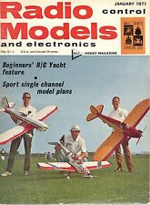 1971 JANUARY 33295 Radio control Models and electronics  A MAP HOBBY MAGAZINE