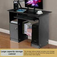 Computer Furniture w/ Printer Shelf Desk PC Laptop Table WorkStation Home Office