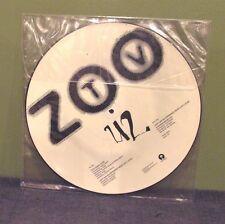 "U2 ""Zoo Station TV"" Pic Disc 12"" Orig LP Bono Flood The Police Daniel Lanois"