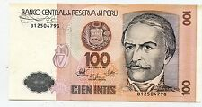 BILLET OF PERU / PEROU 1987