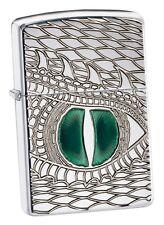 Heavy wall Armor case Zippo nuevo + embalaje original Dragon Eye