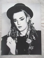 BOY GEORGE   mini-poster cartonné n° 38 EBULLITIONS