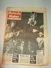 MELODY MAKER 1972 JUNE 17 ELVIS PRESELY JIMMY RUSHING STONE THE CROWS