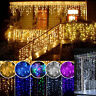 3~30M 96~1200LED String Fairy Lights Xmas Party Icicle Curtain Lamp 220V EU Plug