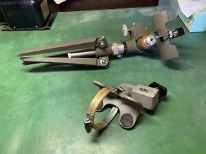 vintage KOWA spotting scope stand & vintage rod mount