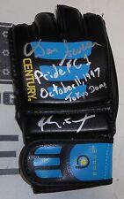 Kimo Leopoldo & Dan Severn Signed MMA Glove PSA/DNA COA Pride FC 1 Autograph UFC