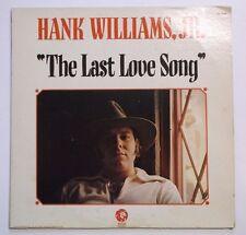 Hank Williams Jr – The Last Love Song - DJ Radio PROMO VINYL LP Not For Sale