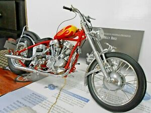 Franklin Mint 1:10 Easy Rider Harley Davidson Billy Bike W/ Papers!