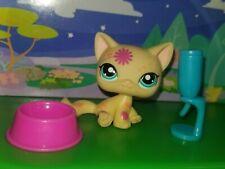Littlest Pet Shop Cat Tattoo Post Kitty Hasbro Short Hair Rare Lps ��