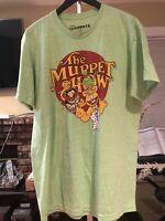 muppets t shirt Large Apple Green