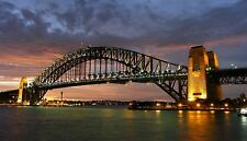 australian photo landscape art print SYDNEY A0 CANVAS PRINT CITYSCAPE CITY