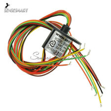 300Rpm Capsule Slip Ring 6 Circuits Wires 12.5mm 2A AC 240V Test Equipment ST