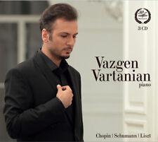 Vazgen Vartanian : Vazgen Vartanian: Chopin/Schumann/Liszt CD (2014) ***NEW***
