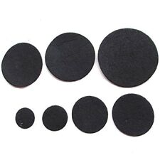 Chenkou Craft 100Pc Black Round Felt Pads (3.0 Cm)