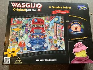 Holdson / Wasgij1000 piece Jigsaw Puzzle 20th Anniversary 'A Sunday Drive!'