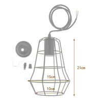 Retro Metal Lampshade Ceiling Lamp Light Shade Pendant Chandelier Fitting