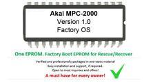 AKAI MPC 2000 Sampler barca Rescue firmware Roma 1.0 EPROM KIT
