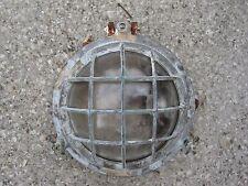 ANTIQUE BULKHEAD LAMP LIGHT NAUTICAL MARINE INTERIOR DECORATE SHIP INDUSTRIAL FL