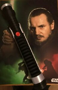 1:1 Scale - 3D Printed Qui-Gon Jinn Lightsaber Hilt Cosplay/Prop/Collectable