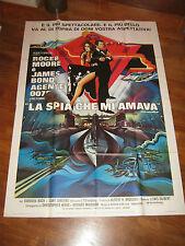 manifesto,ab2,La spia che mi amava,The Spy Who Loved Me,BARBARA BACH,ROGER MOORE