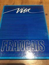 LINGUAPHONE VISA French Language Course Programme Guide 6x Cassette set Vintage