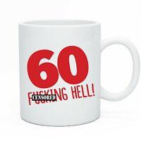 Funny Happy 60th Birthday Tea & Coffee Mug Gift Present Idea For Men & Women