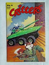 Critters No. 6 December 1986 First Printing July 1986 Fantagraphics VF/NM (9.0)
