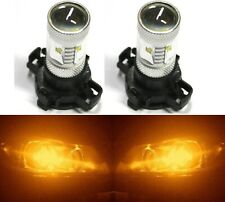 LED 30W 12190 5200 PY24W Orange Amber Two Bulbs Light Turn Signal Replace K
