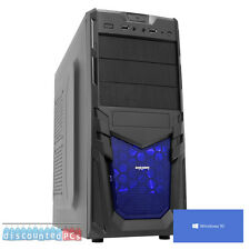 ULTRA Veloce Gaming PC Computer AMD Dual Core 3.9 1tb 16gb ATI 8370 Windows 10 dp4