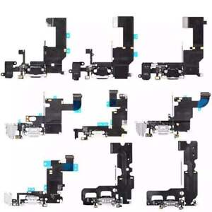 Charging Port Charger Connector Dock Flex Cable For Apple iPhone 5 6 6S 7 8 Plus