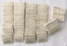 Pearl Stringing Cord Lot Of Thin Nylon And Silk Cards With Needle 72 Total Nos