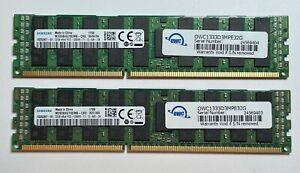 OWC 64GB 2 x 32GB 1333MHz DDR3 Memory for 2013 Apple Mac Pro