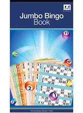 JUMBO TOMBOLA BOOK PAD 480 GIOCHI codificati biglietti 6 per visualizzare vari colori