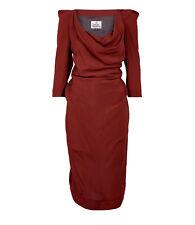 STUNNING VIVIENNE WESTWOOD VIRGINIA DRESS IT 42 UK 10 RRP £700 BNWT
