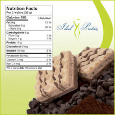 Ideal Protein Triple-layers wafers NR (4 boxes +1 free bar, | Read description!)