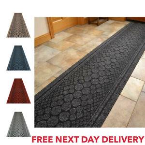 New Hallway Runner Rug Mat Non-Slip Carpet Long Kitchen Hall Caravan Heavy Duty