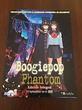 BOOGIEPOP PHANTOM EDICION INTEGRAL 12 EPISODIOS 6 DVD - 300 MIN MUY BUEN ESTADO