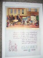 Players Cigarettes The Blenheim at Star Hotel Oxford 1831 art advert 1946 ref AL
