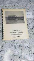 Laketown Elementary School 1969-1970 Yearbook Springfield Illinois 8.27.8