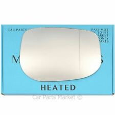 Right Driver side Wide Angle Wing mirror glass for Honda Insight 2009-14 heated