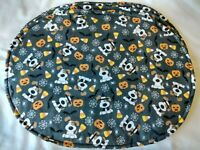 Halloween Dogs Puppies Candy Corn Pumpkins Bats Spiders Set of  4 Oval Placemats