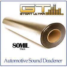 NEW 10sqft (36in Wide Single Roll) GTMAT 80mil Ultra Sound Deadener Dampening