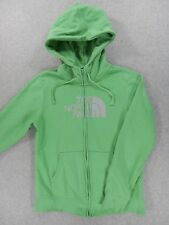 The North Face HALF DOME Cotton/Poly Hoodie Jacket (Womens Medium) Green