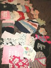 40 pc Lot of Toddler 6 months Baby Girl Clothing