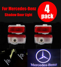 4Pack x LED Door Step Laser Courtesy Projector Ghost Shadow Light Mercedes-Benz