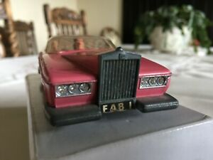 Thunderbirds Dinky Toys FAB1 Rolls Royce with Lady Penelope & Parker