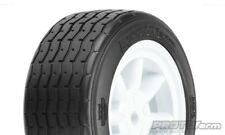 Protoform Vintage Racing Pre-Mounted Front Tire (26mm) (White) (2) - PRM10140-17